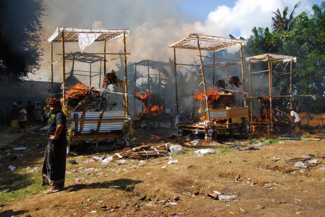 Crematie ceremonie