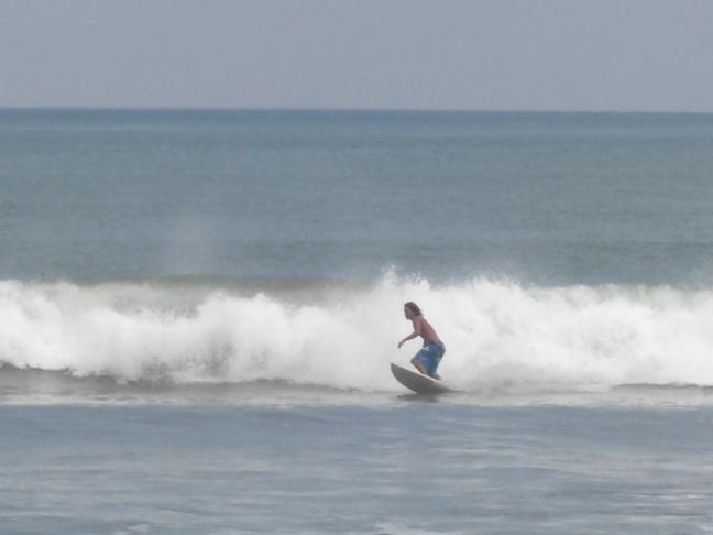 Surfer op Bali