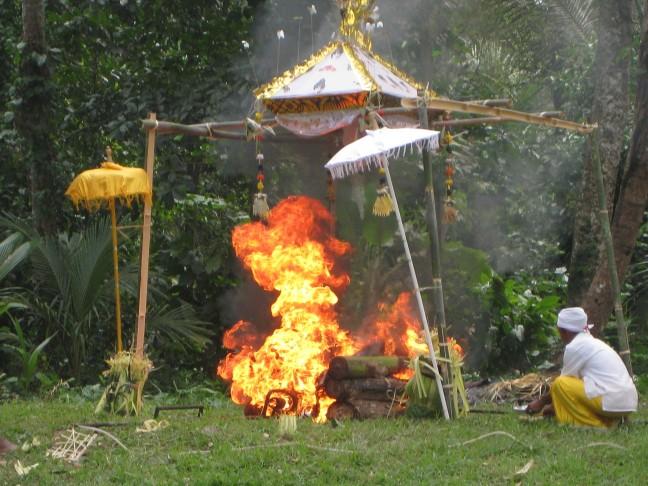 Balinese crematie