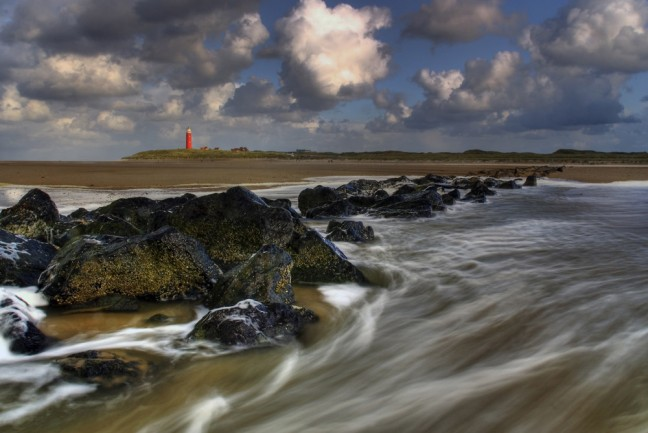 Lighthouse in Fall: Texel 2