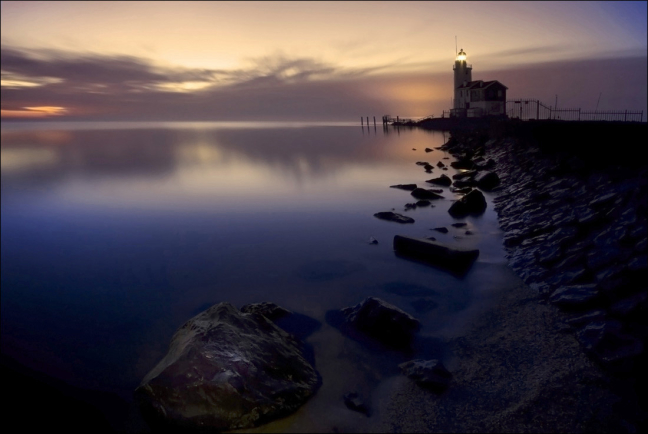 Early Morning Lighthouse