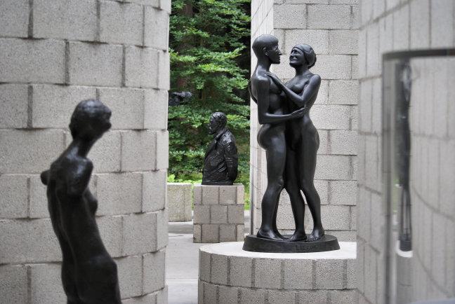 Liefde in het museum