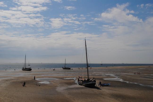 Strand waddenzee Terschelling