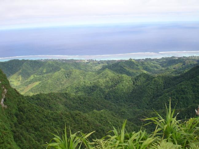 Hoogste punt van Cook Islands