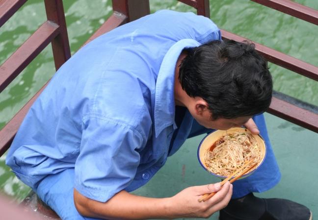 Genot van een Chinese maaltijd