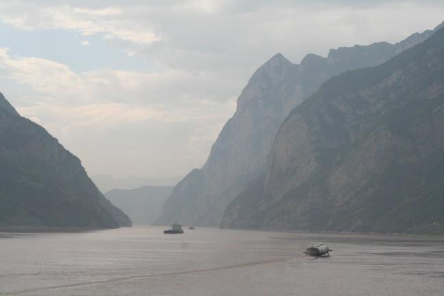 Mystiek rivierenlandschap in het drie klovengebied