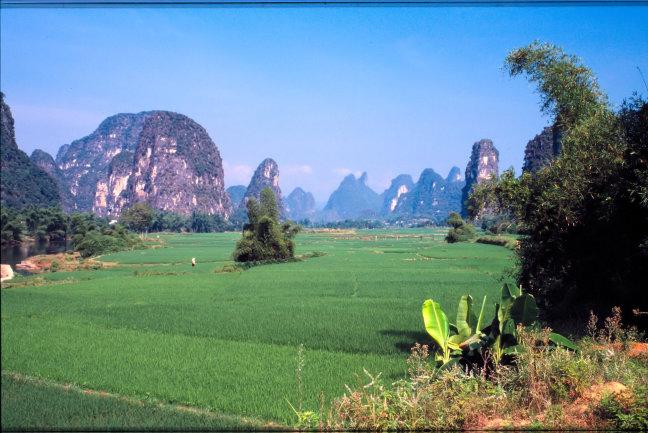 Landschap Yangshuo
