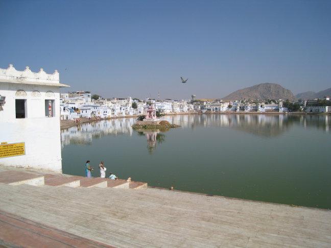 Heilige meer van Pushkar