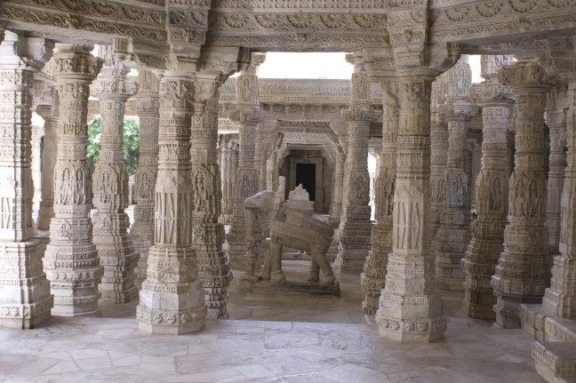 Jain tempel van Adinath