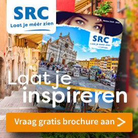 SRC Reizen gratis brochure afbeelding